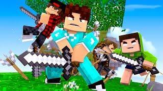 TODOS CONTRA O BAIXAMEMORIA !! - Minecraft (BEDWARS)