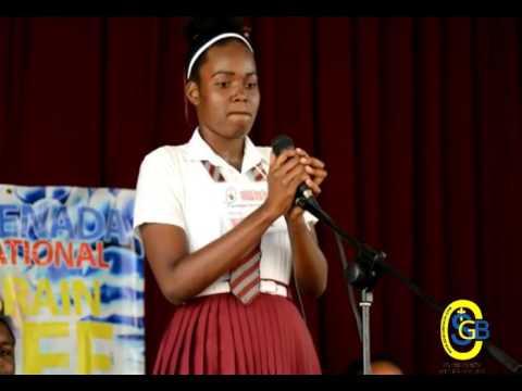 Brain Bee at Grenada Boys Secondary School