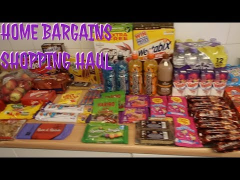 Weekend vlog & Home bargains shopping haul