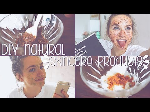 DIY Natural Skin Care Products // YOU NEED TO TRY THESE