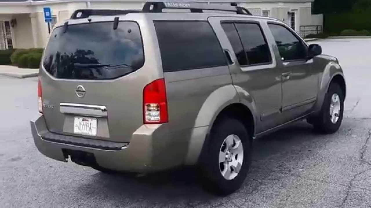 2007 nissan pathfinder s for sale at ginn chrysler jeep dodge in covington ga youtube