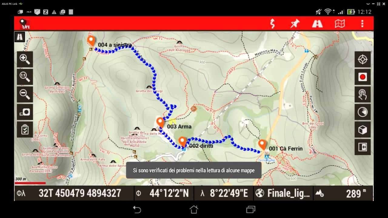 Video 2 Mappe offline per Oruxmaps - Download da web - YouTube