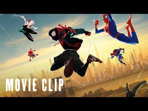 SPIDER-MAN: INTO THE SPIDER-VERSE - Gotta Go clip - At Cinemas Dec 12 | Previews Dec 8 & 9
