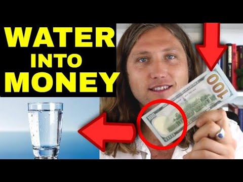 USING WATER To MANIFEST MONEY | The Law of Attraction (How To Do It)