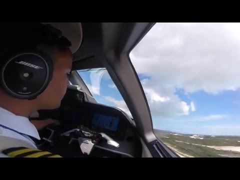 Embraer Phenom 300 - Turks and Caicos Runway 10