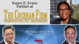 Karen E. Evans discusses DCFEMS on WMAL Mornings on the Mall