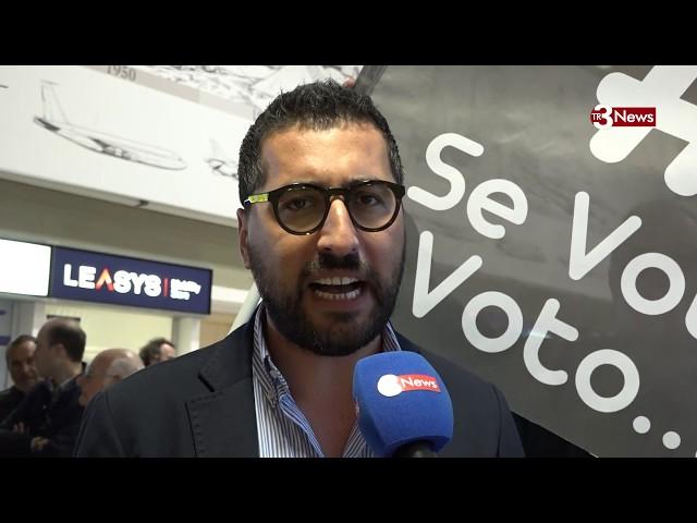 Freeze Mob all'aeroporto di Birgi: interviste