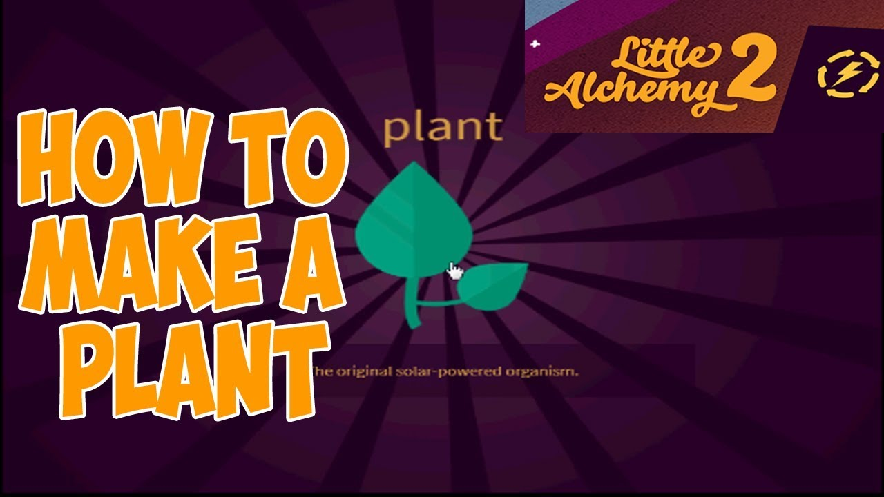 Little Alchemy 2 How To Make A Plant Youtube