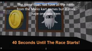 Roblox Gameplay and Review Episode 2 - Mario Kart Roblox Dash -