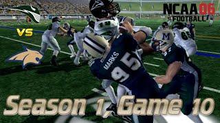Derek Marks' Big Game!   Montana State Bobcat NCAA Football 06 Dynasty   Season 1, Game 10