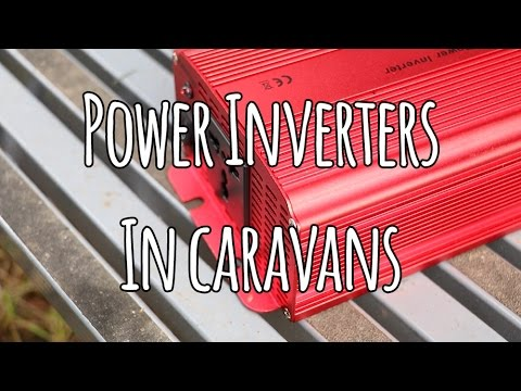 power inverters in caravans