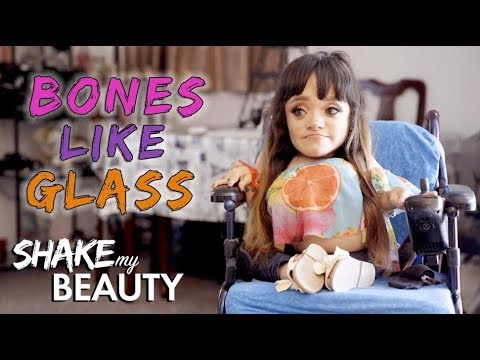 The Make-Up Artist With Bones Like Glass | SHAKE MY BEAUTY