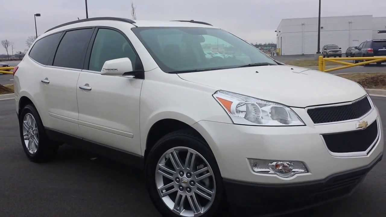 sold.2011 CHEVROLET TRAVERSE LT FWD 29K GM CERTIFIED WHITE ...