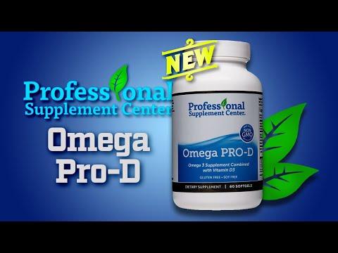 Omega Pro-D - Pharmaceutical Grade Fish Oil Supplement