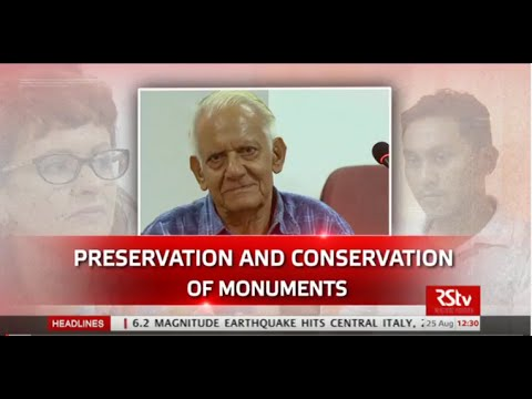Discourse - Preservation and Conservation of Monuments
