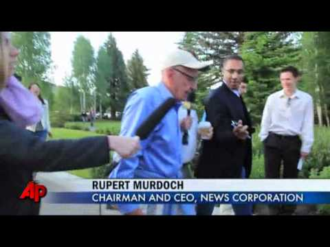 Raw Video: Murdoch Mum on Hacking Scandal
