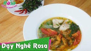 Cách nấu Bún Cá Rô Đồng Hải Dương dân dã