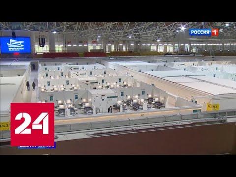 Москве удалось избежать медицинского коллапса в период пандемии - Россия 24