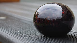Woodturning - The Decking Paperweight