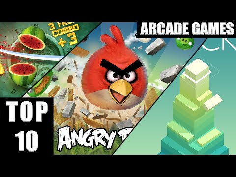 TOP 10 Arcade Games [ANDROID/IOS]