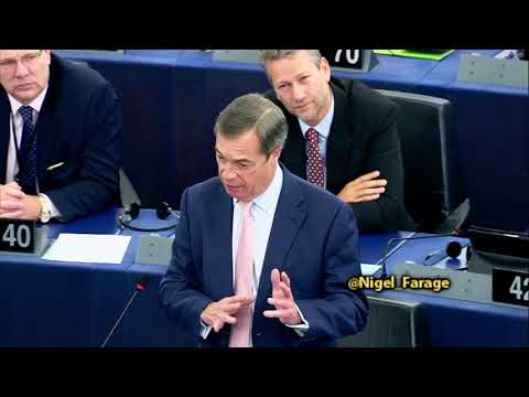 EU's centralising authoritarian tone sounds like the old Soviet Union - Nigel Farage MEP