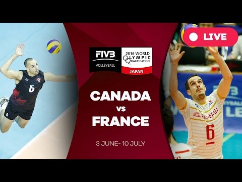 Canada v France - 2016 Men's World Olympic Qualification Tournament