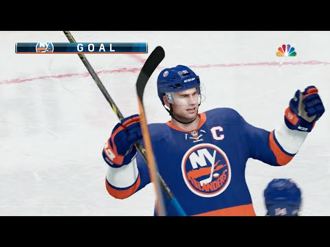 NHL 16 (Xbox One) New York Islanders vs Philadelphia Flyers Gameplay (Full Game)