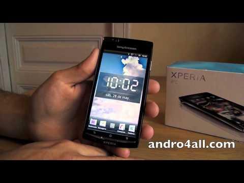 Videoreview SE Xperia Arc 1/2 [HD][ESPAÑOL]