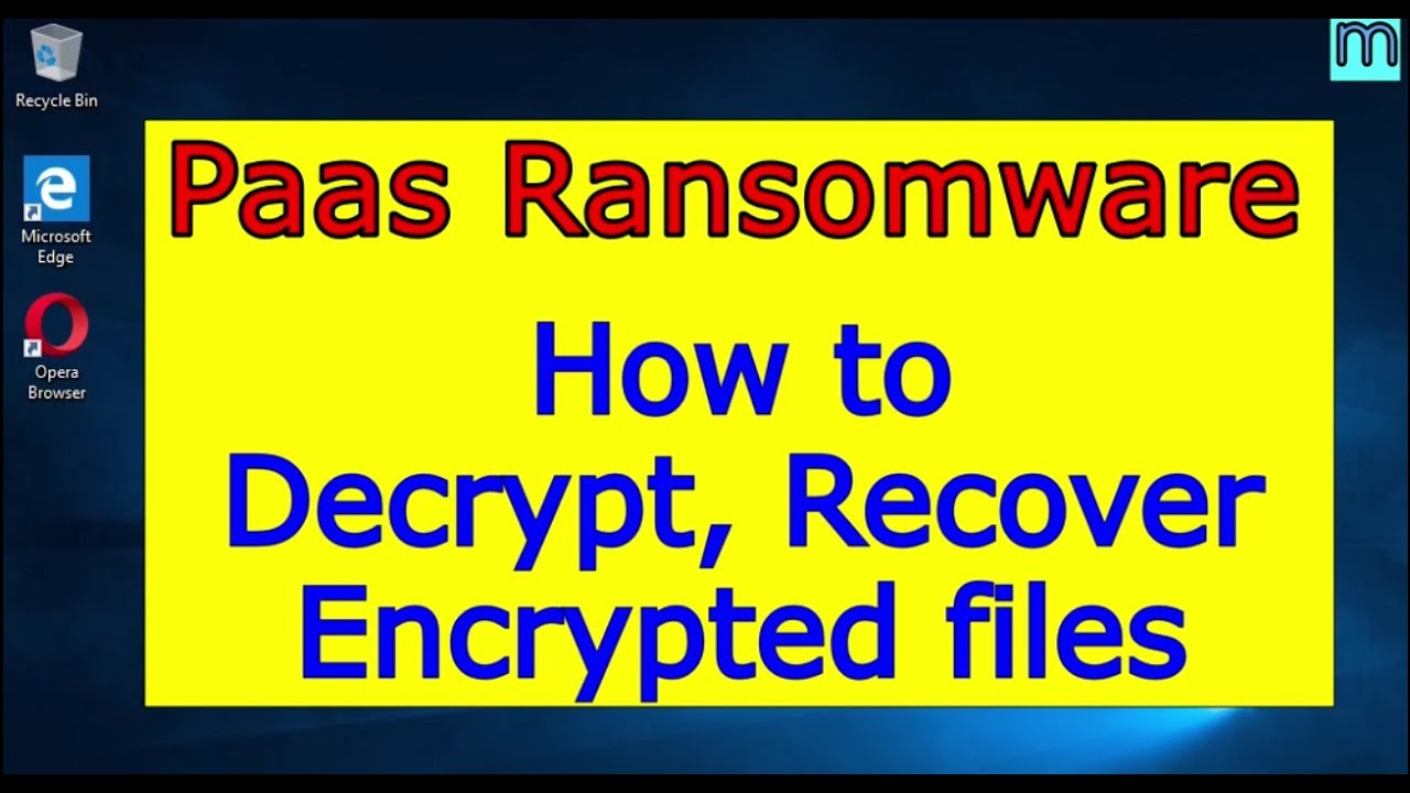 Download Paas virus (ransomware). How to decrypt .Paas files. Paas File Recovery Guide.