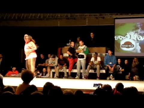 SDK 2011 hip-hop female Miho vs Niki