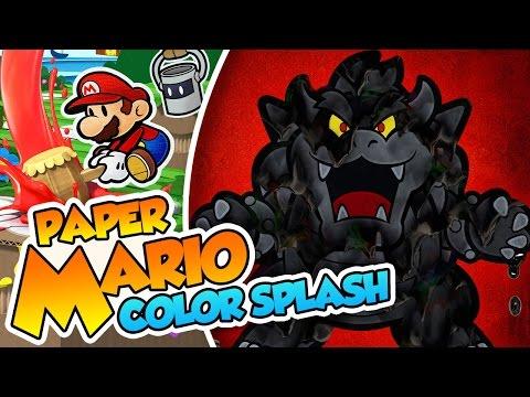 ¡El momento mas tenso del canal! - #42 FINAL - Paper Mario Color Splash (Wii U) en Español