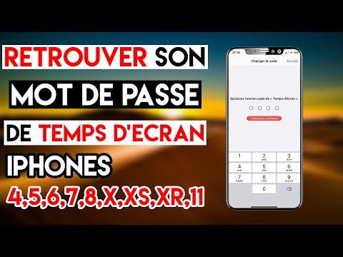 RETROUVER Son Mot De Passe De TEMPS D'ECRAN IPhone (fonctionne Sur Tous Les IPhones)