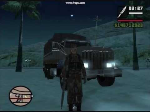 Riding with Private Malone in GTA SA