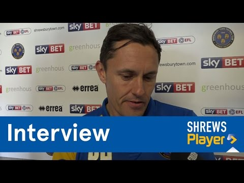INTERVIEW | Paul Hurst post Southend United (H) - Town TV