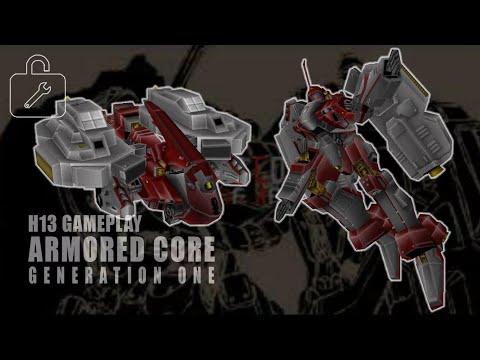 Gen 1 AC Mod Build #109: NineBall=Seraph 【ARMORED CORE】
