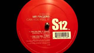 Mr Fingers - Can You Feel It (Trax Records 1986)