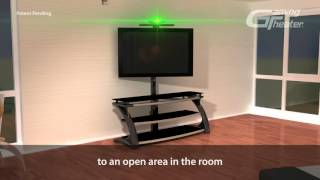 Gaming Theater Sensor/sound Shelf