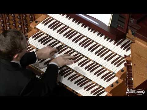 Allen Organ Artist William Picher plays Toccata in D Minor by Gordon Blach Nevin