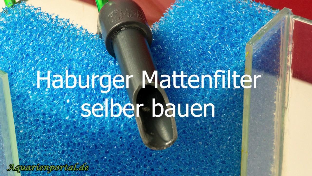 hamburger mattenfilter selber bauen eck hmf. Black Bedroom Furniture Sets. Home Design Ideas
