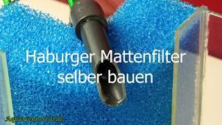 Hamburger Mattenfilter selber bauen - Eck-HMF - Aquarienportal