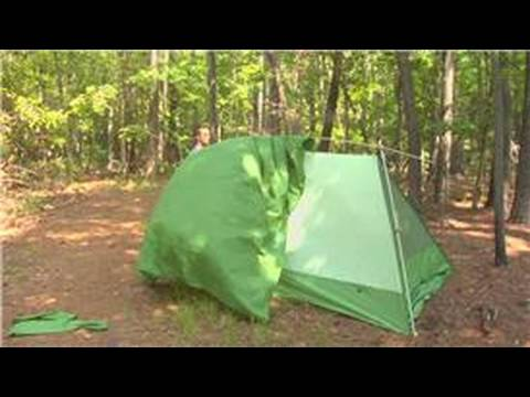 how to set up a venture tent