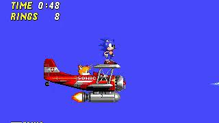 Sonic 2 Flicky Turncoat Edition Boss Run Edition [TAS] in 9:24.68