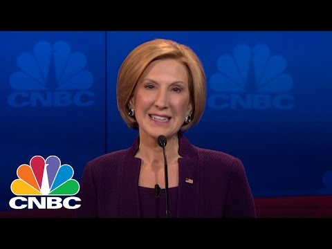 Carly Fiorina: I Was Told I Didn