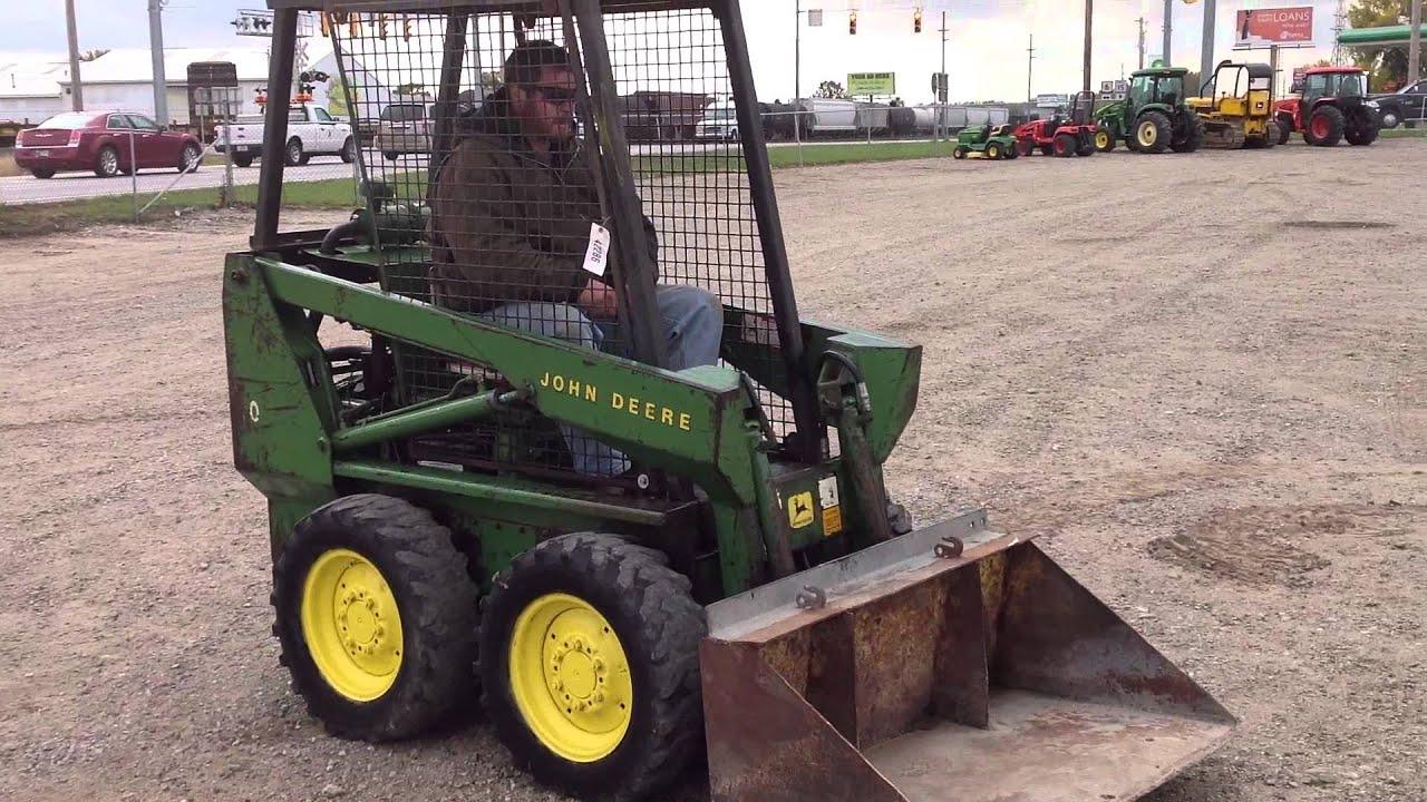 John Deere Skid Steer