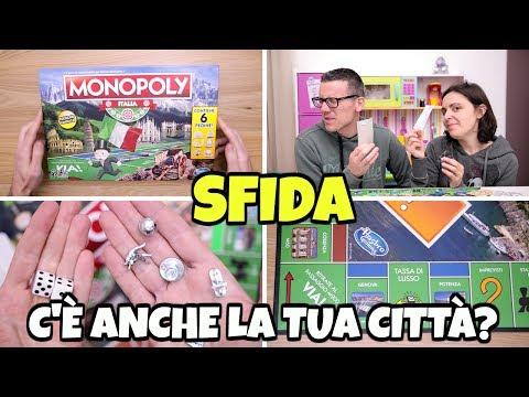 SFIDA A MONOPOLY ITALIA: giochiamo nel nostro paese