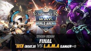 [WorldFinals] Finals: °빛대 vs L.A.M.A | Summoners War |서머너즈워