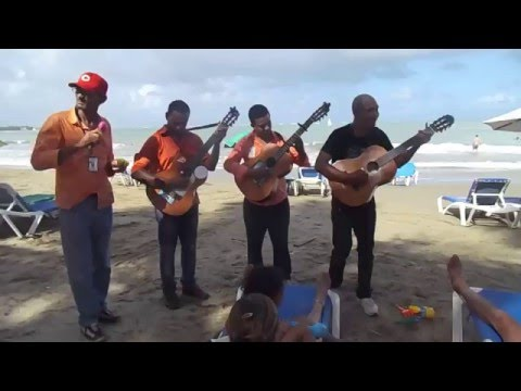 Cabarete Dominican Republic - Merengue Music Group Live on the Beach- Dominican Music