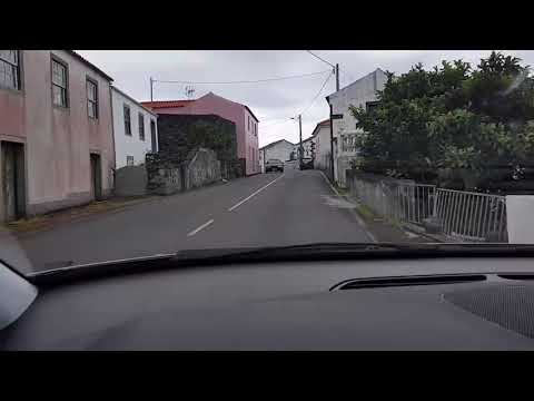 Pico Island Azores - Driving the roads