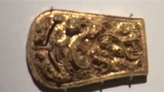 허리띠 고리 (Gold Belt Buckle) / 국보…