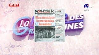 LA REVUE DES GRANDES UNES DU MARDI 16 JUILLET 2019 - ÉQUINOXE TV